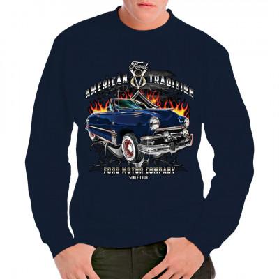 Ford Tuning - eine amerikanische Tradition Es gibt kaum was amerikanischeres als ein Hot Rod auf Basis eines alten Ford, der mit allerlei Chromteilen und Flammen - Airbrush verziert wurde. Das perfekte Motiv für alle Hot Rod Fans.