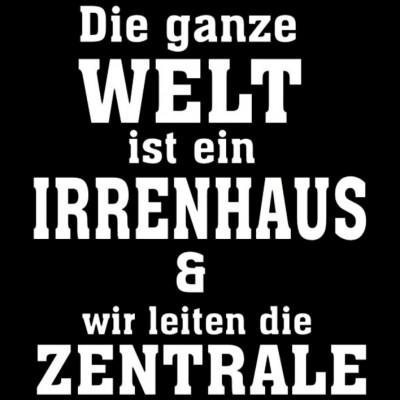 GR 1499 Welt Irrenhaus, Sprüche