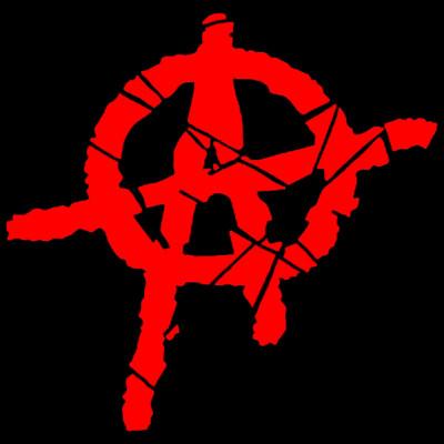 GR 1676 Autonom, Politik, Anarchie, Symbol, X - XXL Motive, Religion & Politik