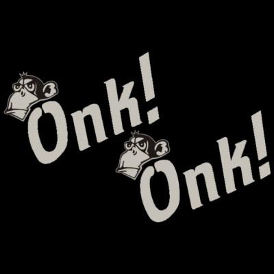 Fun Shirt: Onk Onk, Affengeräusche, Tiere, X - XXL Motive, Lustig & Fun, Tiere & Natur