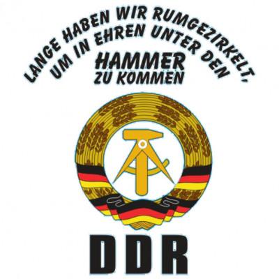 DDR - Lange rumgezirkelt, L - Logos, P - Politik, Religion & Politik, Städte & Länder