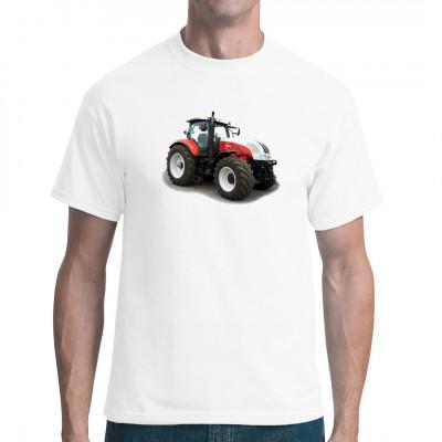 T-Shirt - Motiv: Traktor 2665 ideal als Geschenk für Freunde der Landwirtschaft