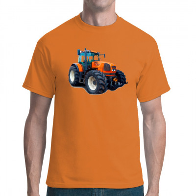 T-Shirt - Motiv: Traktor Renault Ares