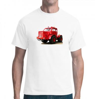 T-Shirt - Motiv: Kirowez K-700 Für Fans von Traktoren, Schleppern, Landmaschinen.