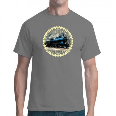 Dampflock Shirt Lok Serie 703t Schienenfahrzeuge Dampflok Shirt NEU