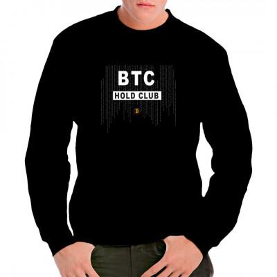 BTC HOLD CLUB Shirt Bitcoin T-Shirt Merch