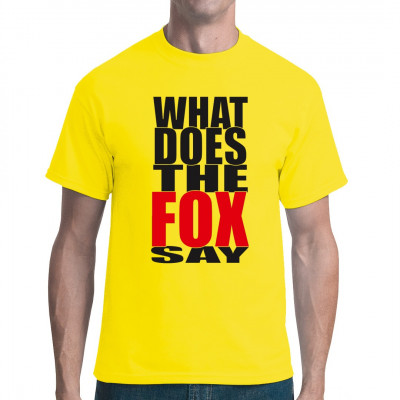 What does the fox say? keiner weiß es was der Fuchs genau für Laute macht.  Der norwegische Musiker und Künstler Ylvis ist mit seinem aktuellen Hit The Fox mindestens so bekannt wie Psy mit seinem Gangnam style.