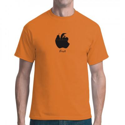 iFruit Logo verarsche Obstkorb  Lecker, Lecker, Lecker, dieses Motiv könnte bekannt sein von einer großen Firma aus Kalifornien.  Das ideale Motiv für alle Android-Fans