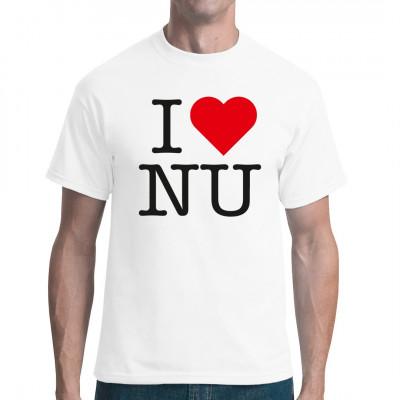 I love nu, Neuheiten, Sprüche, Deutschland / DDR, Lustig & Fun, Städte & Länder