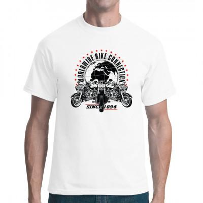 Falls Sie Chopper mögen oder sogar einem Motorradclub angehören, gefällt Ihnen bestimmt dieses T-Shirt.