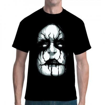 Cooles Black Metal Corpsepaint Motiv  im Stile von Black Metal - Größen wie Abbath oder Shagrath.  Ein absolutes Must Have für alle Fans der wohl härtesten Spielart des Heavy Metal.