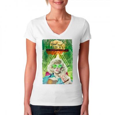 Dystopische Zukunftsvisionen auf deinem Shirt.