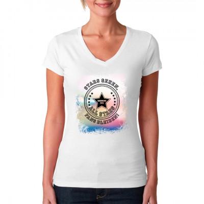 Stars gehen, Fans bleiben! Das Shirt für coole Abiturienten in Anlehnung an die Converse All Stars.
