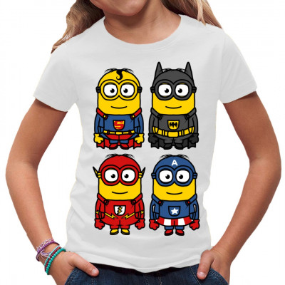 minion superhelden t shirt selbst gestalten drucken im. Black Bedroom Furniture Sets. Home Design Ideas