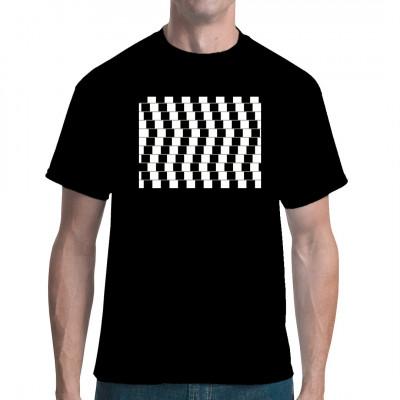 Optische Täuschung Stripes Balken