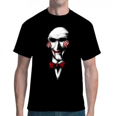Horror Fun Shirt mit gruseliger Puppe