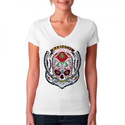 Mariachi. Holen Sie den mexikanischen Lifestyle auf Ihr Shirt.