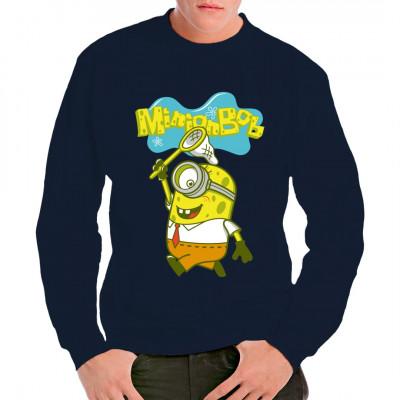 Bob ist der etwas andere Minion. Witziges Comic Parodie Motiv für dein Shirt. Mittels Digital-Direktdruck aufgebracht. waschfest