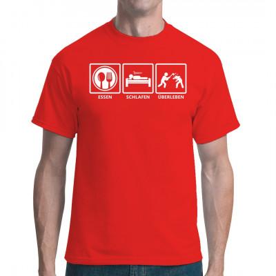 Hol dir jetzt dein Survival - Shirt in vielen Farben und Größen