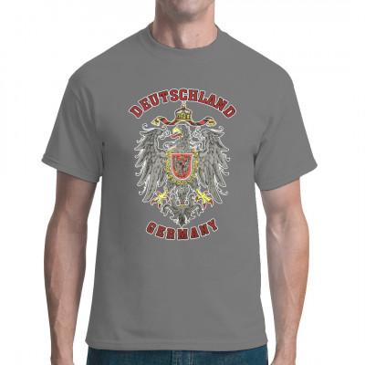 Der Reichsadler des Deutschen Kaiserreiches unter Wilhelm II als Shirt Motiv.