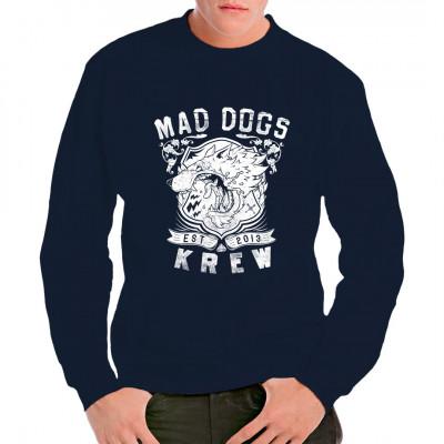 Mad Dogs Krew - Est. 2013 Cooles Motiv für Biker Club Shirts