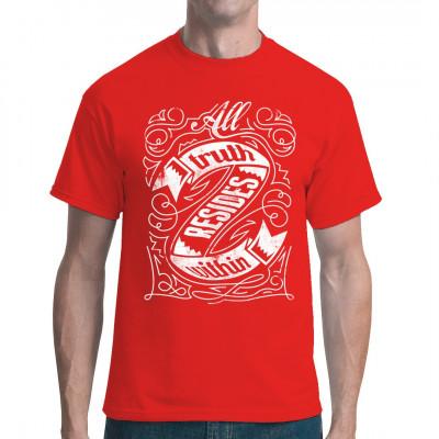 Shirt Motiv: Truth resides within Fashion Tattoo Spruch für dein Shirt Mittels Digital-Direktdruck aufgebracht. waschfest