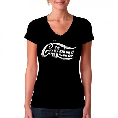 Mit diesem tollen Shirt zeigst du, wie wichtig dir deine tägliche Dosis Kaffee ist.  Mittels Digital-Direktdruck aufgebracht. waschfest