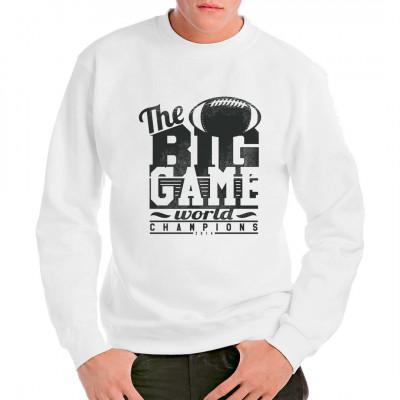 Amerikas beliebteste Sportart gewinnt auch in Deutschland immer mehr Anhänger. Stehst du auch auf American Football? Dann ist das hier das perfekte Shirt für den nächsten Game Day.  Mittels Digital-Direktdruck aufgebracht. waschfest