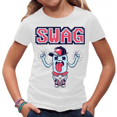 Bist du cool und einfach nur lässig drauf? Hast du den absoluten Swag? Dann hol dir dieses chillige Shirt um dein Outfit zu vervollständigen.  Mittels Digital-Direktdruck aufgebracht. waschfest