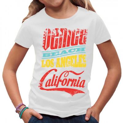Cooles Beach Style Shirt Motiv für alle Surfer, Sonnenanbeter und sonstigen Fans der atemberaubenden Strände von Los Angeles. In vielen Größen und Farben erhältlich, ideal als Geschenk