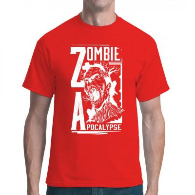 Gruseliges T-Shirt für die anstehende Zombie Apokalypse.