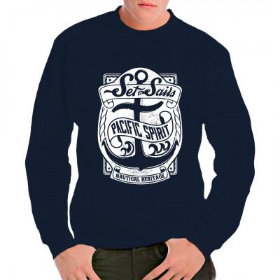 Shirt Motiv: Pacific Spirit. Setzt Segel mit diesem tollen Shirt Motiv.