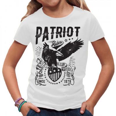 Du bist ein echter amerikanischer Patriot? Dann hol dir dieses tolle Adler Motiv für dein Shirt