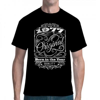 Bist du ein Original Baujahr 1977? Dann zeig es mit diesem Oldschool Vintage Shirt.
