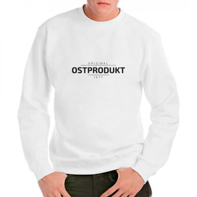 Tolles Shirt für alle originalen Ostprodukte. Ostalgie Motiv für dein T-Shirt, Sweatshirt oder V-Neck