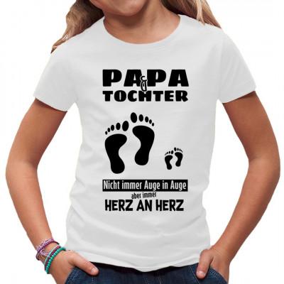 Ob am Männertag oder bei der Familienfete: Vater und Tochter stehen immer Seite an Seite vereint. Hol Dir noch heute dieses tolle Vatertagsgeschenk für Papa und seine kleine Prinzessin.