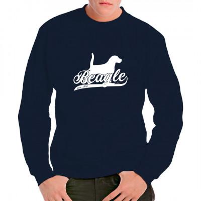 Tolles Shirt Motiv für alle Beagle Fans. Idealer T-Shirt Druck für alle Hundefans, Tierfreunde und Züchter.