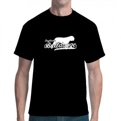 Hunde Rassen Shirt Motiv: Englische Bulldogge Tolles Geschenk für alle Besitzer eines Rassehundes.