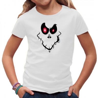 T-Shirt - Motiv: Geistergesicht Ein grinsender Geist für dein T-Shirt.