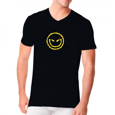 Big Smiley für helle und dunkle Textilien geeignet