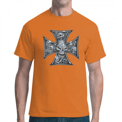 Iron Cross - Eisernes Kreuz, Männer & Frauen, Totenköpfe & Gothic, Biker, Biker