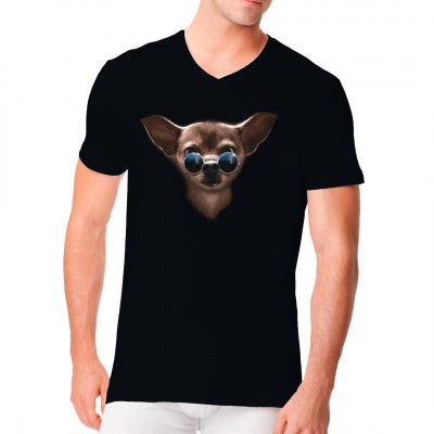 Hunde Shirt: Cool Chihuahua, MOTIVE P - Z, Tiere, Lustig & Fun, Tiere & Natur, Hunde, Hunde