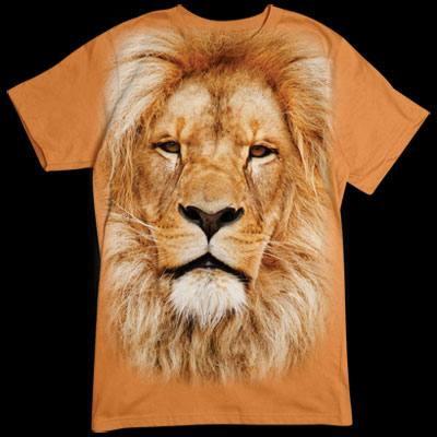 Extra-wildes T-Shirt - Motiv: Löwenkopf Tragt das Wappentier des Hauses Lannister mit Stolz.  Hear me roar!
