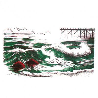 Meeres Landschaft tobende Wellen Sturm - Oversize , M - Maritim, N - Natur, MOTIVE P - Z, U - Umwelt, X - XXL Motive, Y - Yachting, ALLE MOTIVE, Tiere & Natur, Männer & Frauen, MARITIM