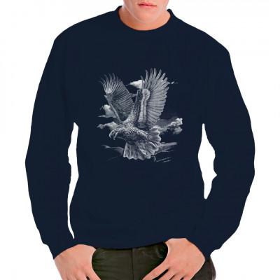 Fliegender Adler , MOTIVE P - Z, Tiere, Meerestiere, Sonstige, Z - Zoo, ALLE MOTIVE, Tiere & Natur, TIERE, ADLER / VÖGEL, Adler