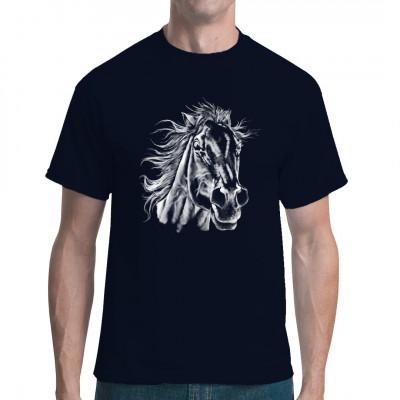 T-Shirt - Motiv : Pferdekopf