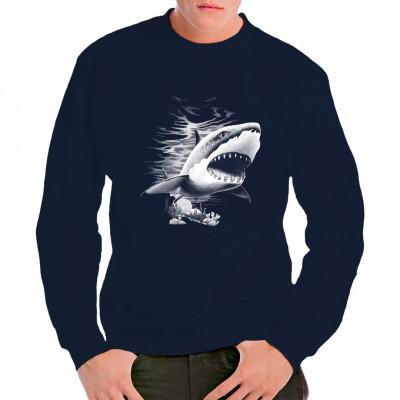 Hai im Angriff - Big Shot Haigebiss Oversize , Sale 20%, Sonstige, N - Natur, Tiere & Natur, Männer & Frauen, Unter Wasser, Tiere & Natur
