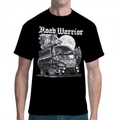 Road Warrior, Fahrzeuge, Trucks, Tiere, Europa - Wildlife, Sonstige, Tiere & Natur, Männer & Frauen, Trucker & Trucks