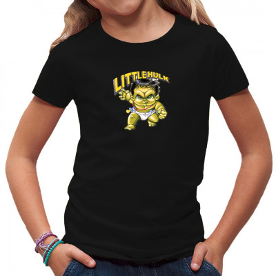 T-Shirt Motiv: Little Monster Ähnlichkeiten mit bekannten Superhelden sind rein zufällig