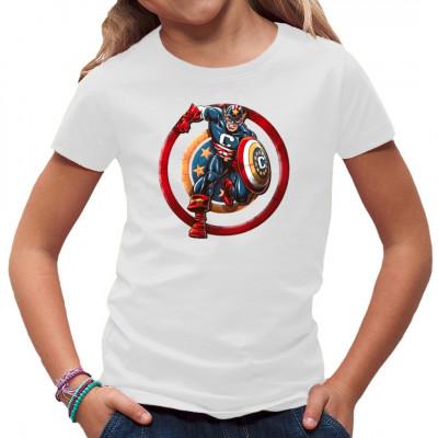 Hol dir den ersten Avenger als Motiv für dein Shirt. Cooles Superhero - Motiv